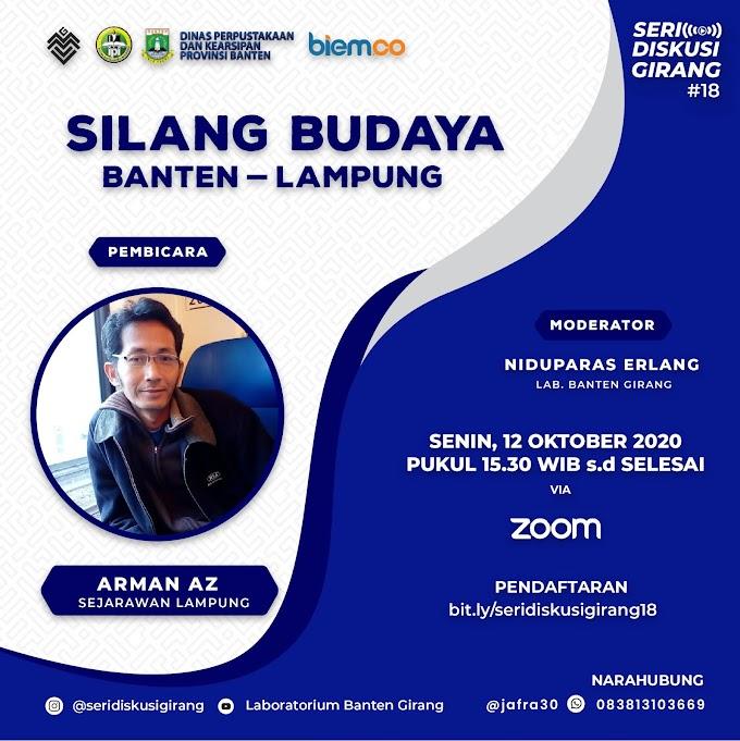 Seri Diskusi Girang #18: Silang Budaya Banten-Lampung