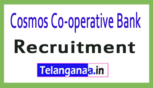 Cosmos Co-operative Bank Recruitment