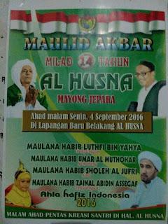 Jadwal Habib Luthfi bin Yahya, Pekalongan September 2016