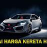 Senarai Harga Terkini Kereta Honda 2021 [Terkini]