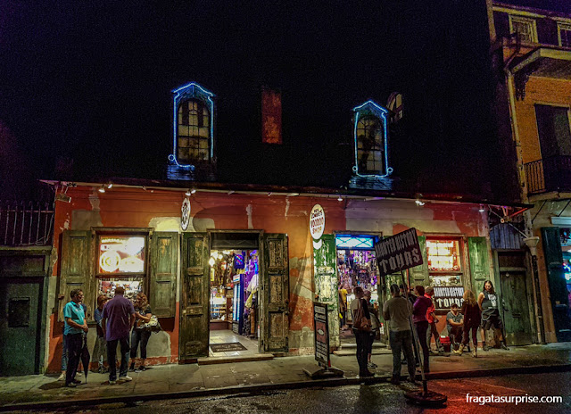 Vida noturna no French Quarter, Nova Orleans
