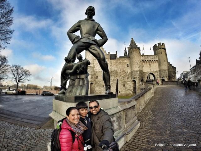 Viajando de motorhome pela Bélgica: Antuérpia