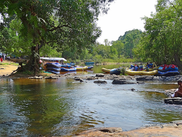 River Rafting in Dubare Elephant Camp, Coorg