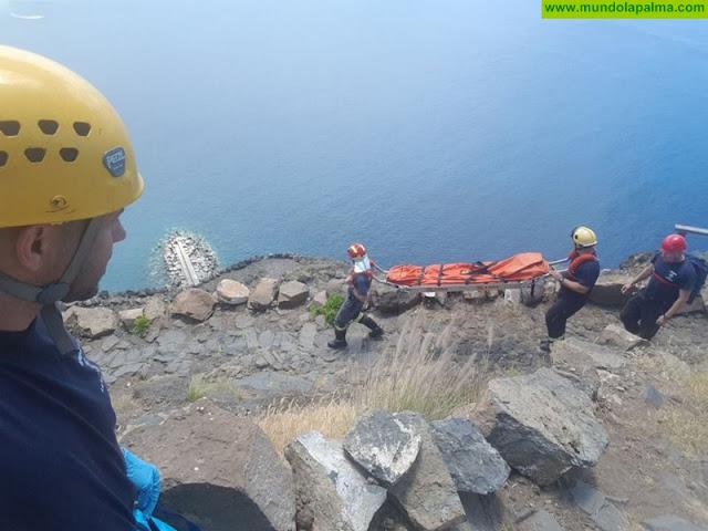 Una senderista alemana es rescatada en el Time