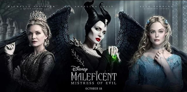 Top Action Movies of 2019-Maleficent Mistress of Evi
