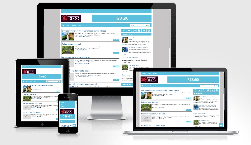 Plater Pro - Responsive Blogger Template