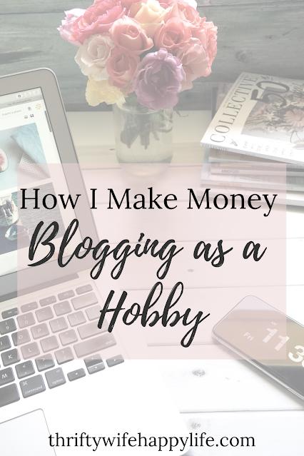 How I make money blogging