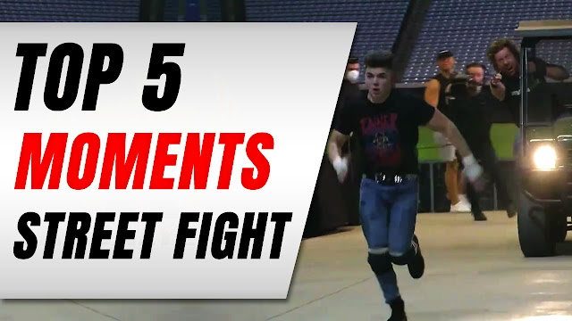 TOP 5 Moments in AEW Dynamite's Inner Circle vs Kenny Omega / Damascus Street Fight