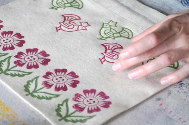 Как нанести рисунок на хлопчатобумажную ткань