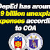 P13.9 billion unexplained expenses of DepEd