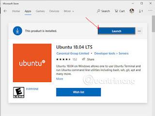Launch Ubuntu