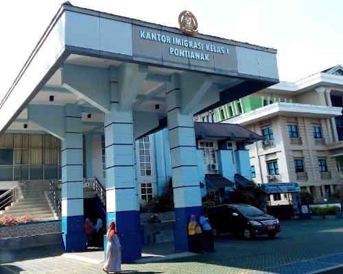 Alamat Telepon Kantor Imigrasi Kelas I TPI Pontianak - Kalbar