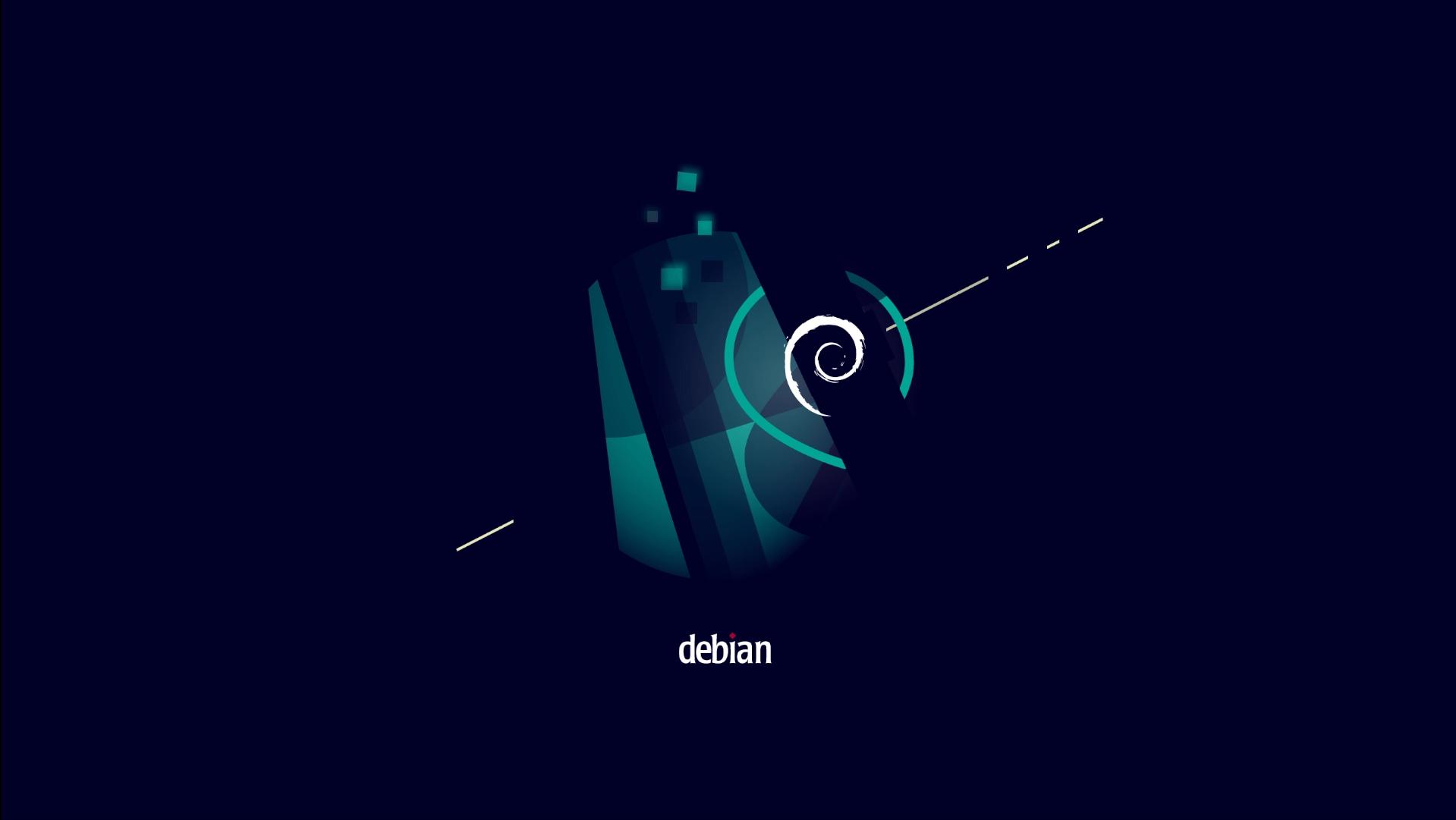 Wallpaper padrão do Debian 11 'Bullseye'