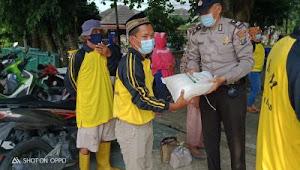 Kapolsek Medan Area Kunjungi Kampung Tangguh