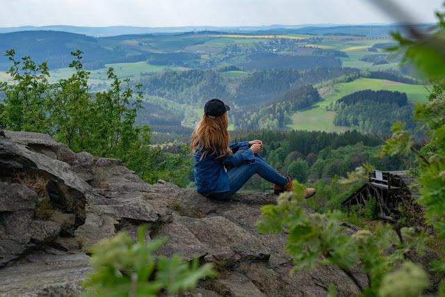 Kammweg Erzgebirge  Etappe 3+4 von Sayda nach Olbernhau  Wandern in Sachsen 13