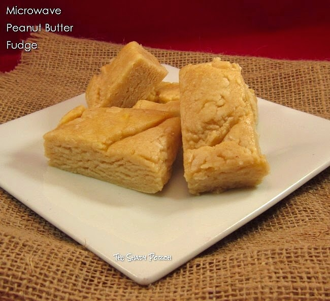 Microwave Peanut Butter Fudge