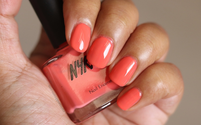 Nykaa Nail polish Strawberries n Cream review