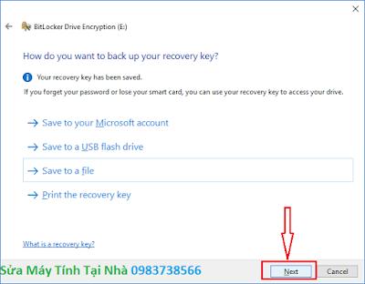 Đặt mật khẩu ổ cứng bằng BitLocker - H04