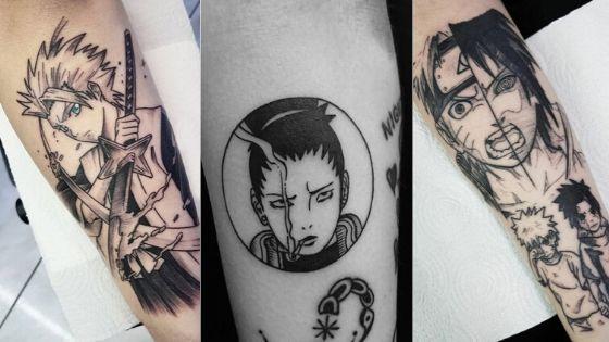 Best Anime Tattoo Sleeve