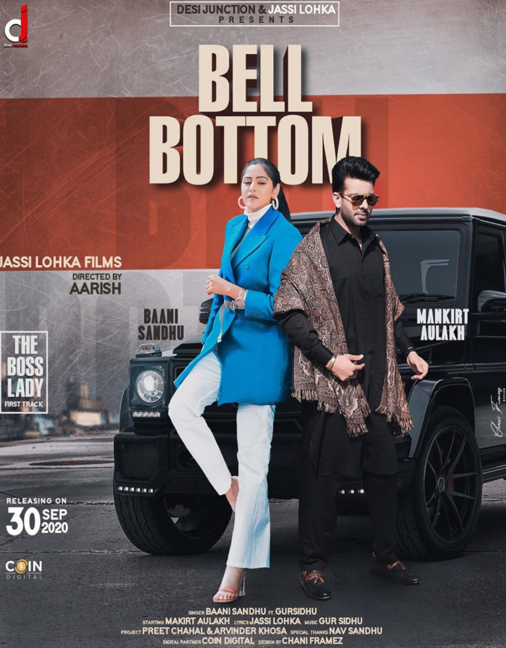 Bell Bottom Lyrics Baani Sandhu | Mankirat Aulakh