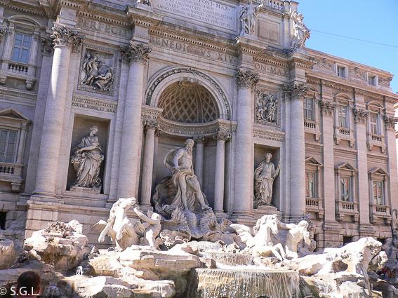 Fontana de Trevi. 5 dias en Roma