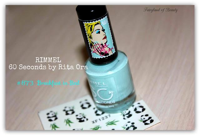 Отзыв: «Завтрак в постели» Лак для ногтей Rimmel 60 Seconds By Rita Ora - #873 Breakfast In Bed.