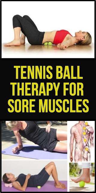 How To Get Rid Of Sore Muscles Using A Tennis Ball