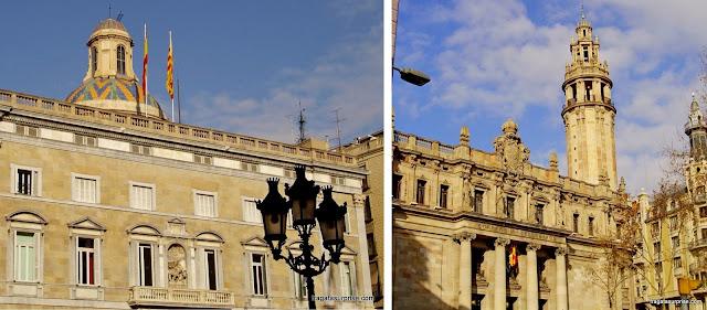 Barcelona - Praça de Sant Jaume