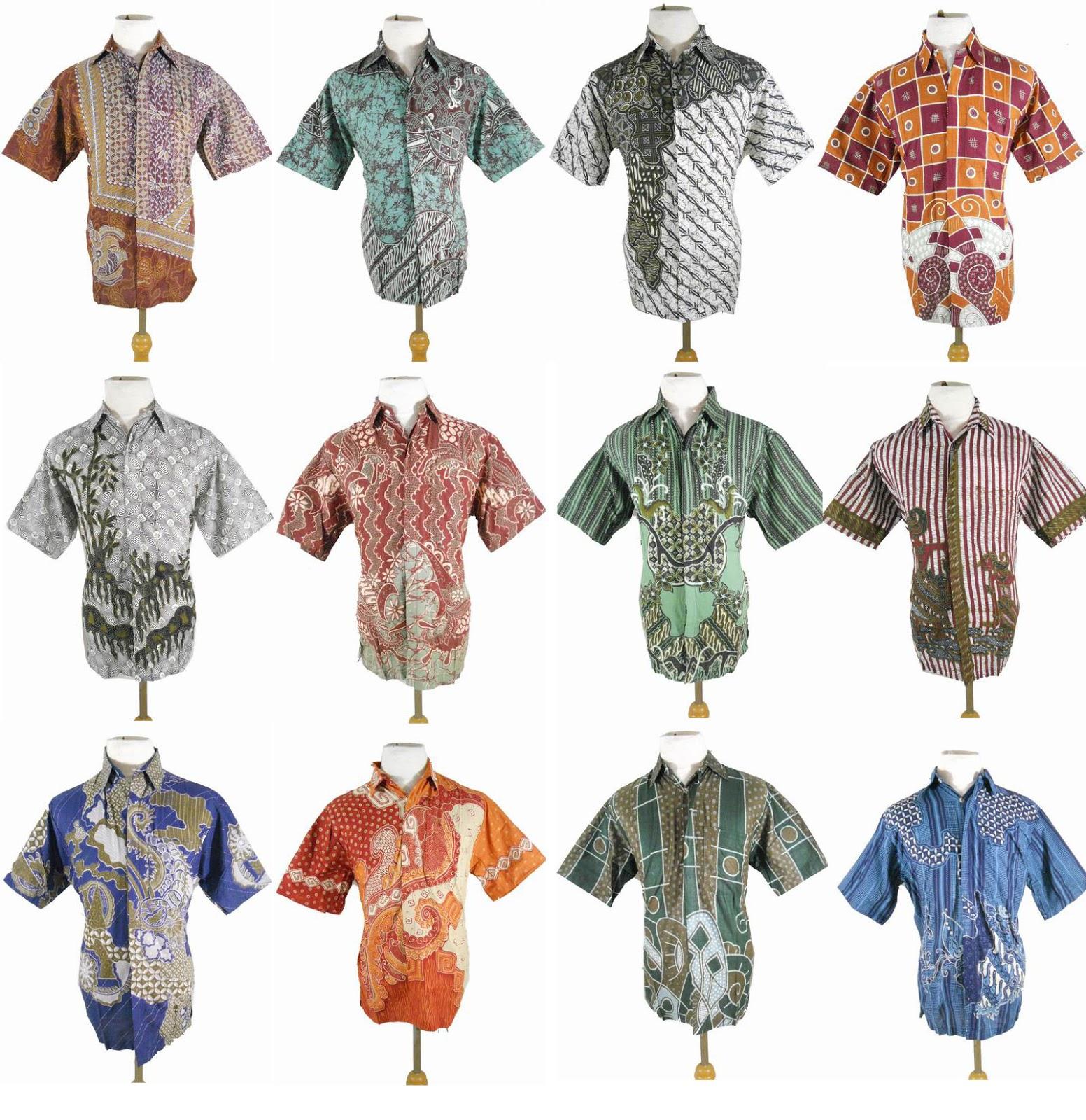 ARB1138 hem batik murah kodian