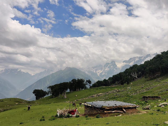 How To Do Kashmir Great Lakes Trek  tabletop