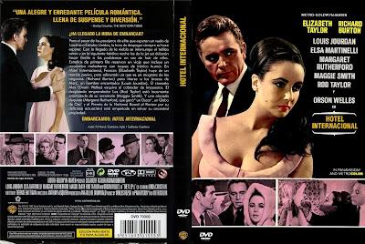 Carátula dvd: Hotel Internacional (1963)