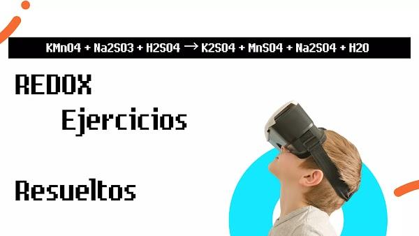 ▷ Balance REDOX (Solución) KMnO4 + Na2SO3 + H2SO4 → K2SO4 + MnSO4 + Na2SO4 + H2O