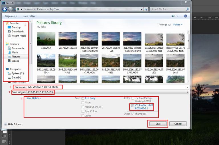 Cara Memperkecil File Gambar Tanpa Mengubah Dimensi