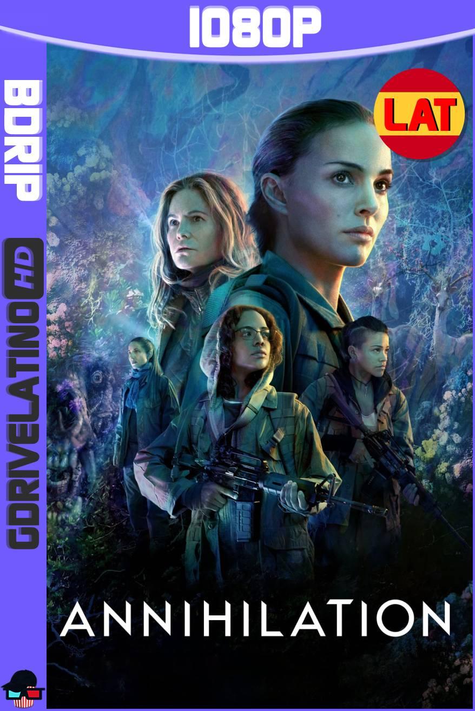 Aniquilación (2018) BDRip 1080p Latino-Ingles MKV