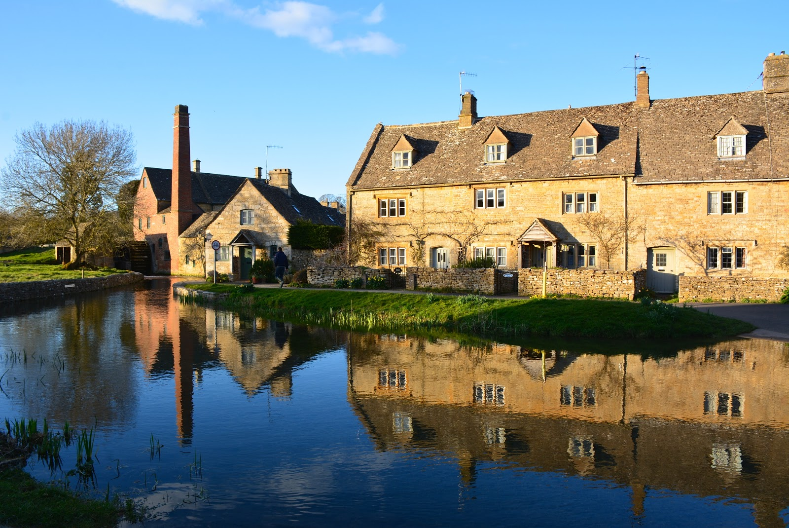 Lower Slaughter along the River Eye