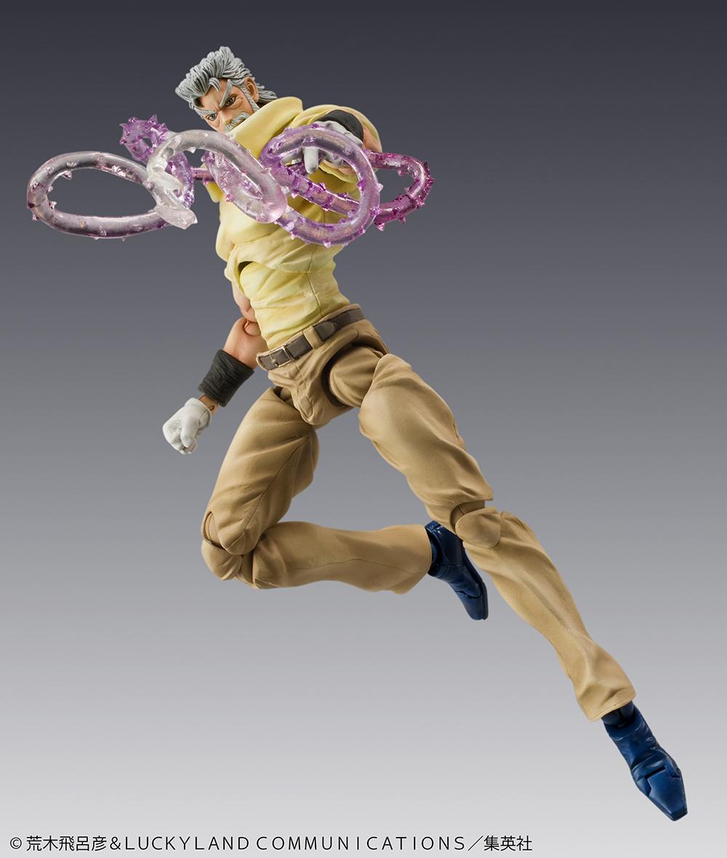 [日系玩具] Medicos超像可動系列《JoJo的奇妙冒險:星塵鬥士》喬瑟夫・喬斯達&伊奇 - 潮・玩・媒 Fashion・Toy・Media