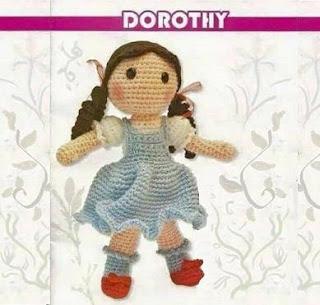 PATRON GRATIS DOROTHY | EL MAGO DE OZ AMIGURUMI 36500
