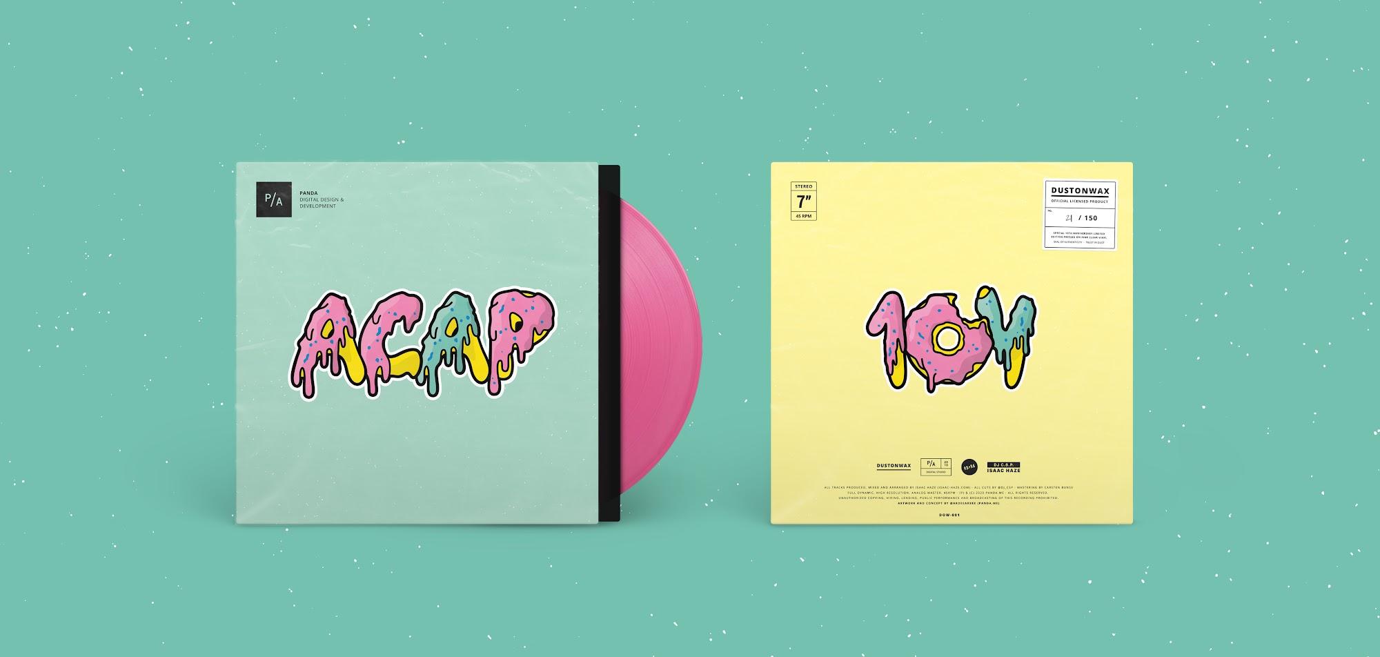 Isaac Haze mit neuem Vinyl und Musik für eine Stuttgarter Kreativagentur und den guten Zweck   Full EP Stream