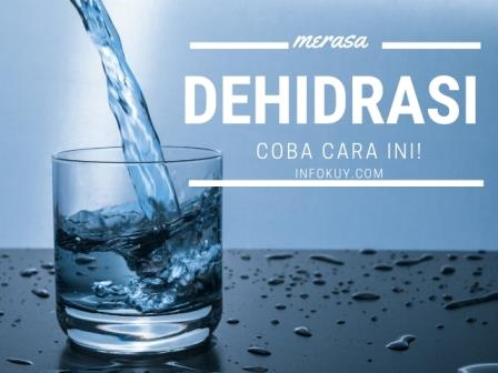 cara cegah dehidrasi