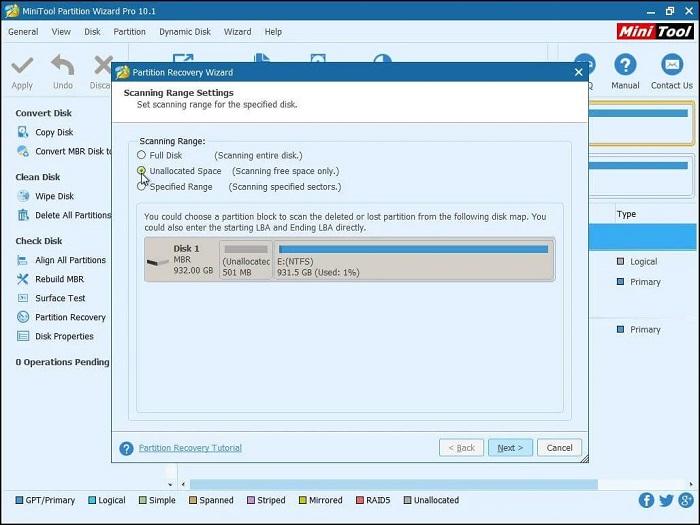 كيفية إصلاح مشكلة لا يمكن تثبيت الويندوز بعد حذف قسم النظام windows can't boot