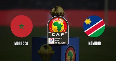 مشاهدة مباراة المغرب وناميبيا بث مباشر اليوم 23-6-2019 في كاس امم افريقيا 2019