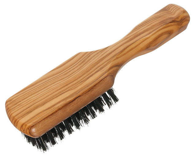 Redecker wild boar brush