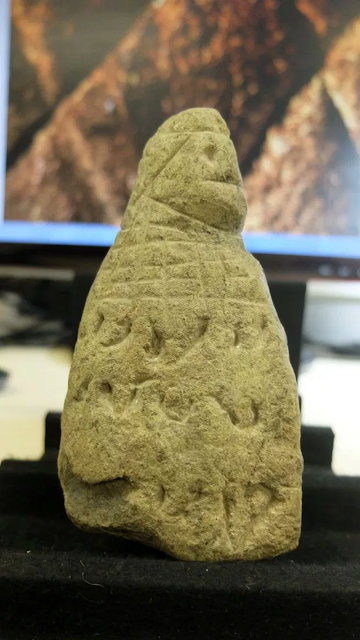 Pre-Columbian stone figures with 'mysterios markings' point to 'lost civilisation' in Puerto Rico