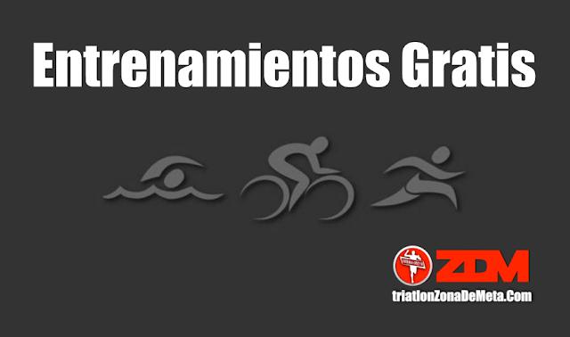 Entrenamientos Gratis (Tabla de gimnasio, natación, atletismo maraton, triatlon etc)