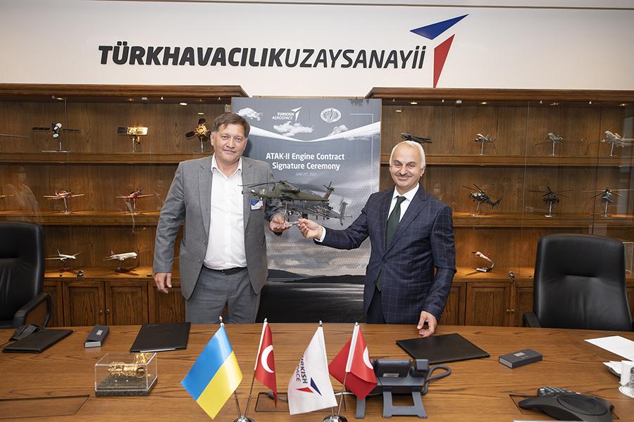 Мотор Січ отримала контракт на 14 двигунів для турецького важкого ударного гелікоптера