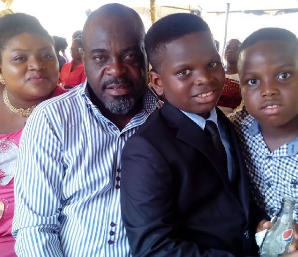 funsho adeolu family