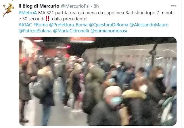 Metro e bus, in viaggio tra assembramenti e guasti