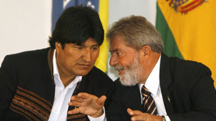 Morales y Da Silva concretaron decenas de acuerdos en infraestructura con empresas brasileras / WEB