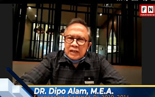"""Dipo Alam Ingatkan HRS-FPI-TNI Bergandengan saat Tsunami Aceh, """"Tak Ada tuh Parpol yang Turun"""""""