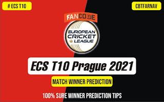 ECS T10 Prague 2021 100% Sure Match Prediction Tips Free